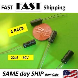 50V 22uF capacitor 50 volt 22 micro farad