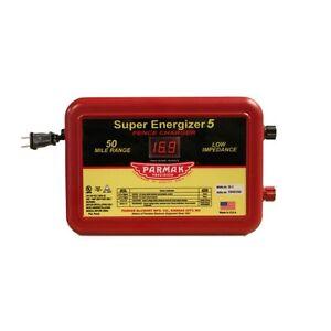 Parmak Super Energizer Electric Fence Controller 50 Mile