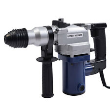 850W Electric Rotary Hammer Drill SDS Chisel Bits Demolition Kit w/ Case New