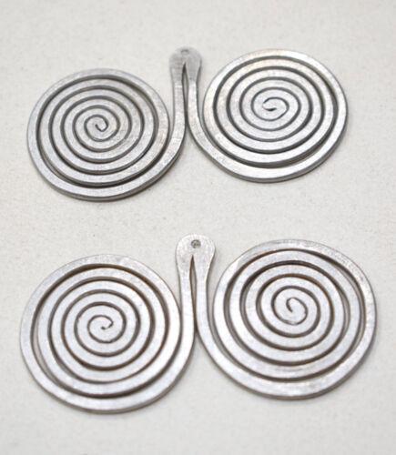 Beads Old Masai//Turkana Aluminum Pendant 60mm