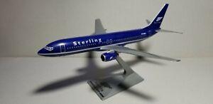 FM-STERLING-AIRLINES-737-800-DARK-BLUE-1-200-SCALE-PLASTIC-SNAPFIT-MODEL