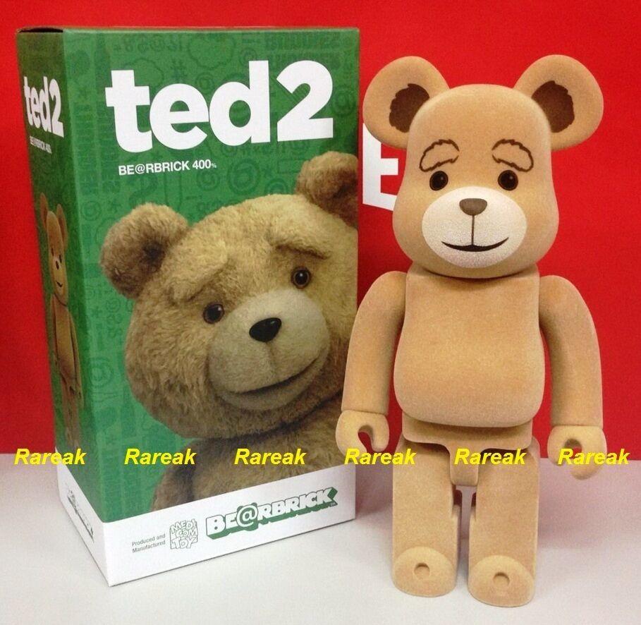 Medicom 2015 Be@rbrick Universal City Studios Ted 2 400% Teddy flocado Bearbrick