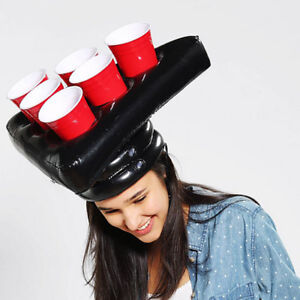 Beer-Pong-Hat-Inflatable-Fun-Party-Game-Head-Swimming-Pool-Game-Toy-Can-Bottle
