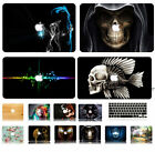 Printed Crystal case Shell Rubberized keyboard cover For macbook Pro Air Retina