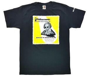 Vintage Philharmonic Beethoven 2000 Tee Black Size M T-Shirt