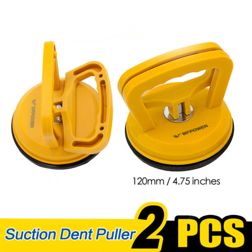 Pair Suction Cup Dent Puller Handle Lifter Heavy Duty Granite Glass Lifting