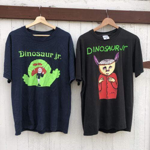 Lot Of 2! Vintage Dinosaur Jr Shirts Size Large Ba