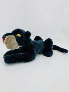 """Disney Store Jungle Book Bagheera 18"""" Black Panther Plush Villain Free Shipping"""