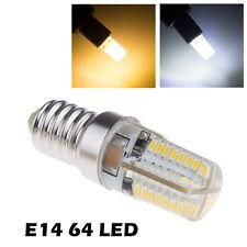 AC 220-240V E14 3W 64 LED 3014 SMD Capsule Bulb Corn Bulb Light 500-600LM Lamp