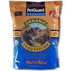 """Petguard Next To Nature """"Organic Vegetarian"""" 4.4lb Bag"""