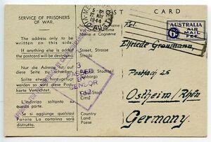 AUSTRALIA-1944-German-POW-postcard-camp-13-Murchison-to-Germany-censor
