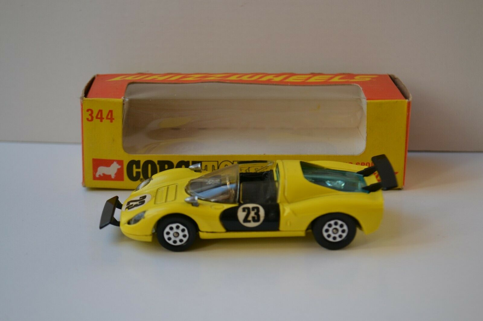 Corgi toys 344  Ferrari 206 Dino sport 1 43 neuf dans sa boîte  vente en ligne