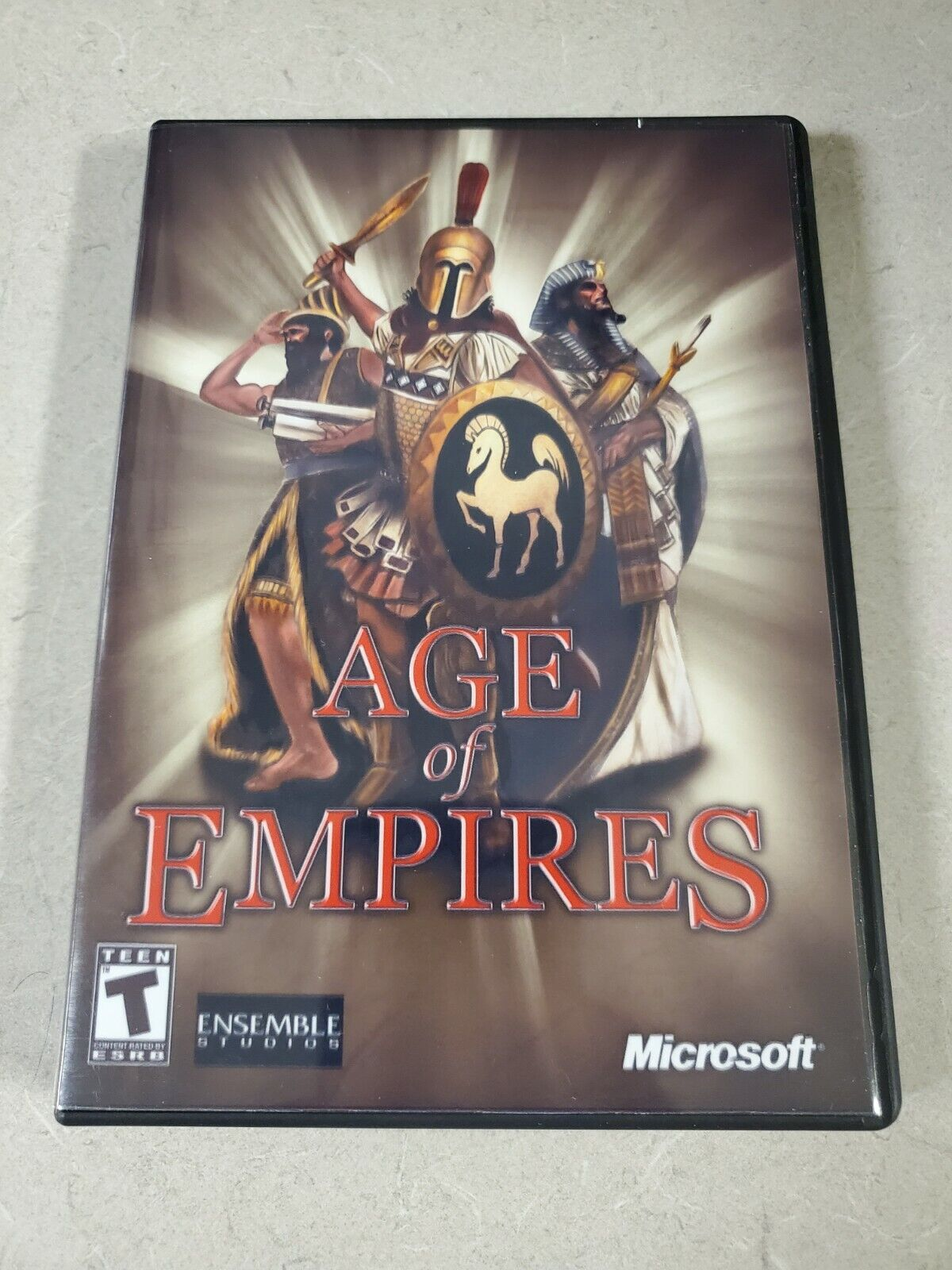 Image 1 - Age Of Empires 1 PC Game and Custom DVD Case