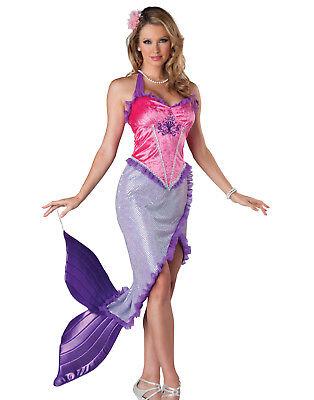 Joy Join 3 Pcs Girls Little Mermaid Princess Ariel Costume Swimsuit Swimming Bikini Set
