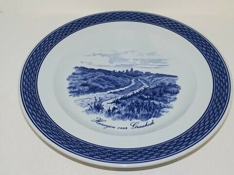 Porcelæn, Tranquebar  Lille middagstallerken