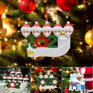 2020 Merry Christmas Hanging Ornaments Family Personalized Ornament US
