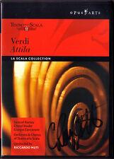 DVD Cheryl STUDER Signed VERDI ATTILA Samuel Ramey Giorgio Zancanaro MUTI Scala