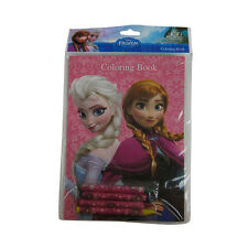 Brand New Walt Disney Frozen Elsa Anna Pink Activity Coloring Book 16 Pages