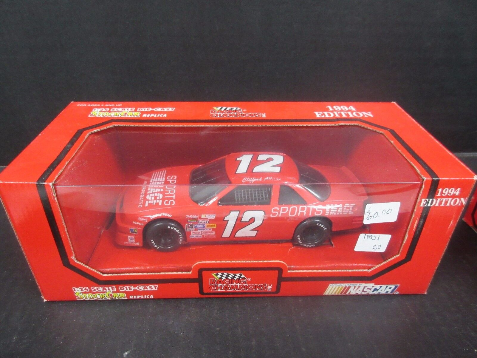 1994 Racing Champions Sports Image Clifford Allison -- -- -- 1 24th scale 84053b