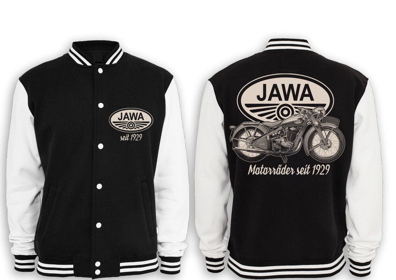 JAWA College Ostalgie Giacca Moto culto Ostalgie College motociclo 350,700,50 1c505f