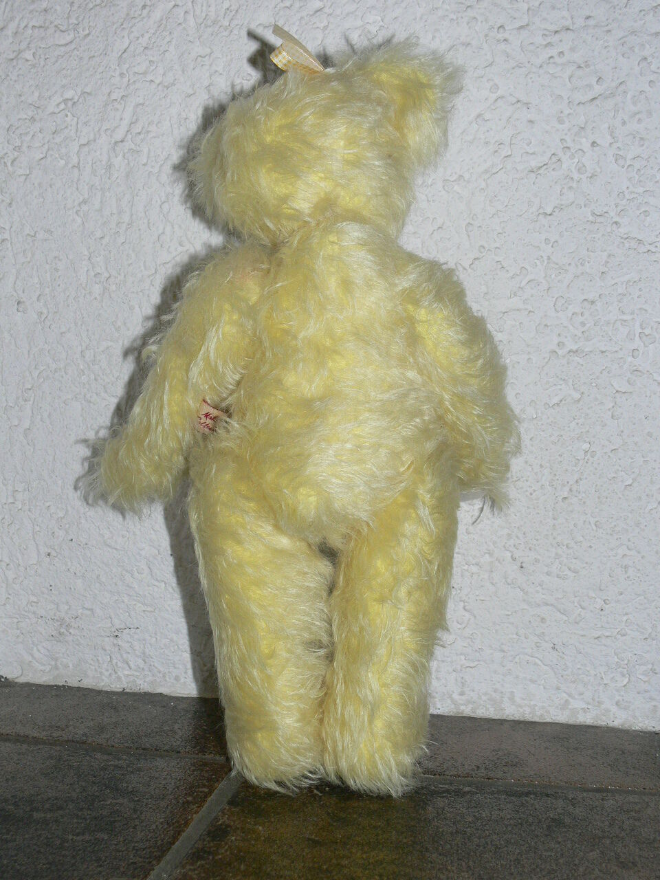 grauly - - - Bär Sarah - gelb - ca. 35 cm - limitiert -  Nr. 401 von 999 - a7c01a