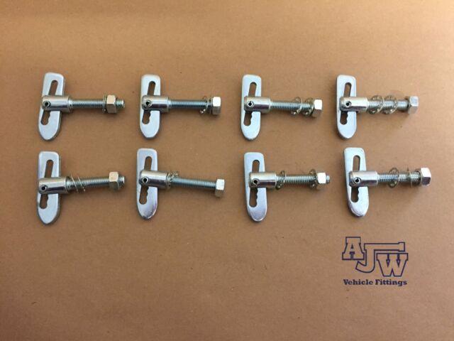 10 x Antiluce Fastener M8 x 38mm Stainless Steel Horseboxes Trailer Drop Lock