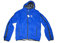 RLX Ralph Lauren Polo Blue Black Active Hooded Jacket Water Resistant Coat Large