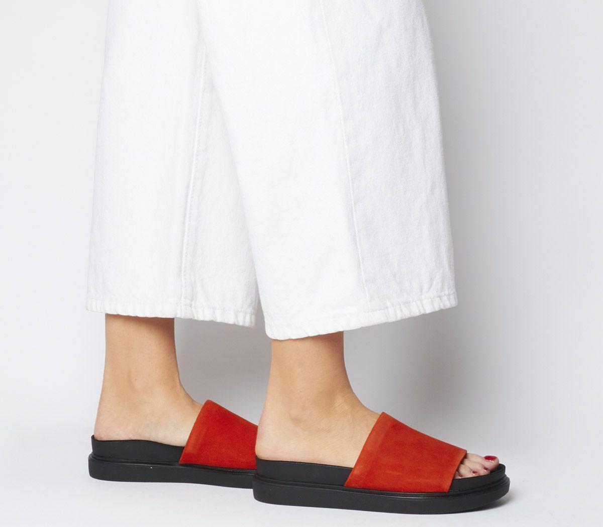 Womens Vagabond Erin Sandals Tangerine Sandals