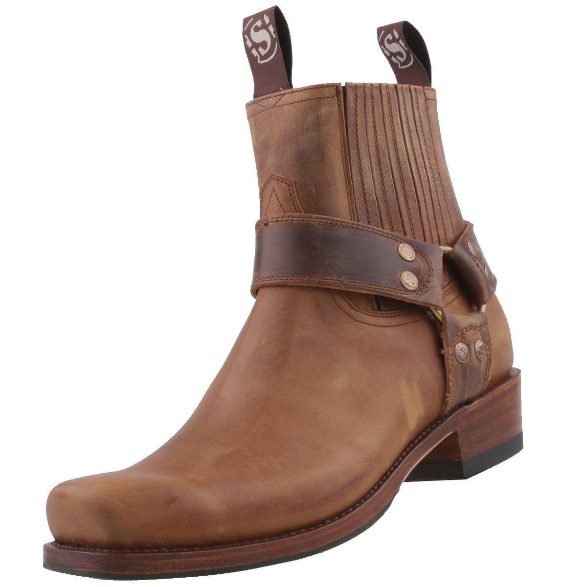 Nuevo sendra botas zapatos caballero zapatos cuero-botas motorista-botas botines
