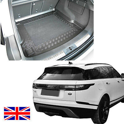 HD Rubber Boot Mat Tray Liner Pet Cover Protector For Range Rover Velar 2017 On