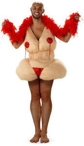 Graisse-Tapoter-Grasse-Strip-Teaseuse-Costume-pour-Homme-Epais-Femme-Fettanzug
