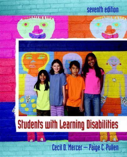 Students with Learning Disabilities by Mercer, Cecil D.; Pullen, Paige C.