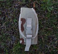 Brown Camo Turkey Call Pouch Case Molle Attach Usgi Short/long Box Hunting