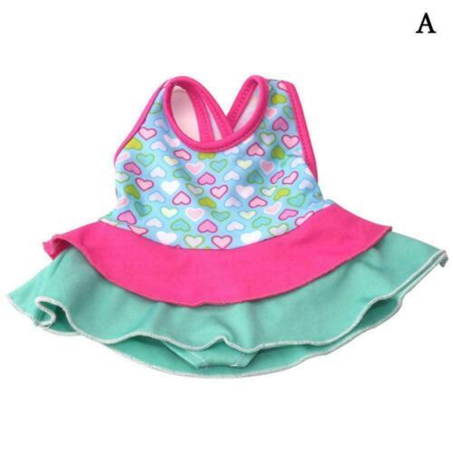 Kleidung Bademode Badeanzug für 18Inch Mädchen Our Generation Puppe E3C0
