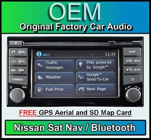 NISSAN-JUKE-GPS-equipo-estereo-para-coche-LCN2-con-reproductor-de-CD-Bluetooth