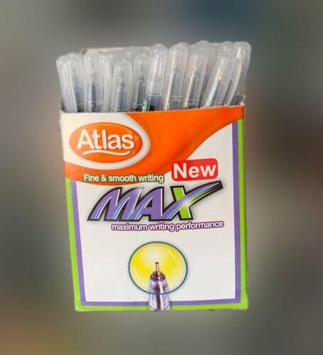Atlas Max Ballpoint Pens Blue Color 0.7mm Kids Office School handwrit