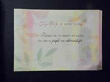 "Happy Mother's Day Card with Envelope "" To My Wife"" (MD-160)"