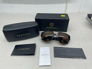 VERSACE VE4371 Sunglasses 108/73 - Havana