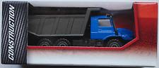 Majorette - Mercedes-Benz Zetros Muldenkipper Dump Truck blau/dunkelgrau Neu/OVP