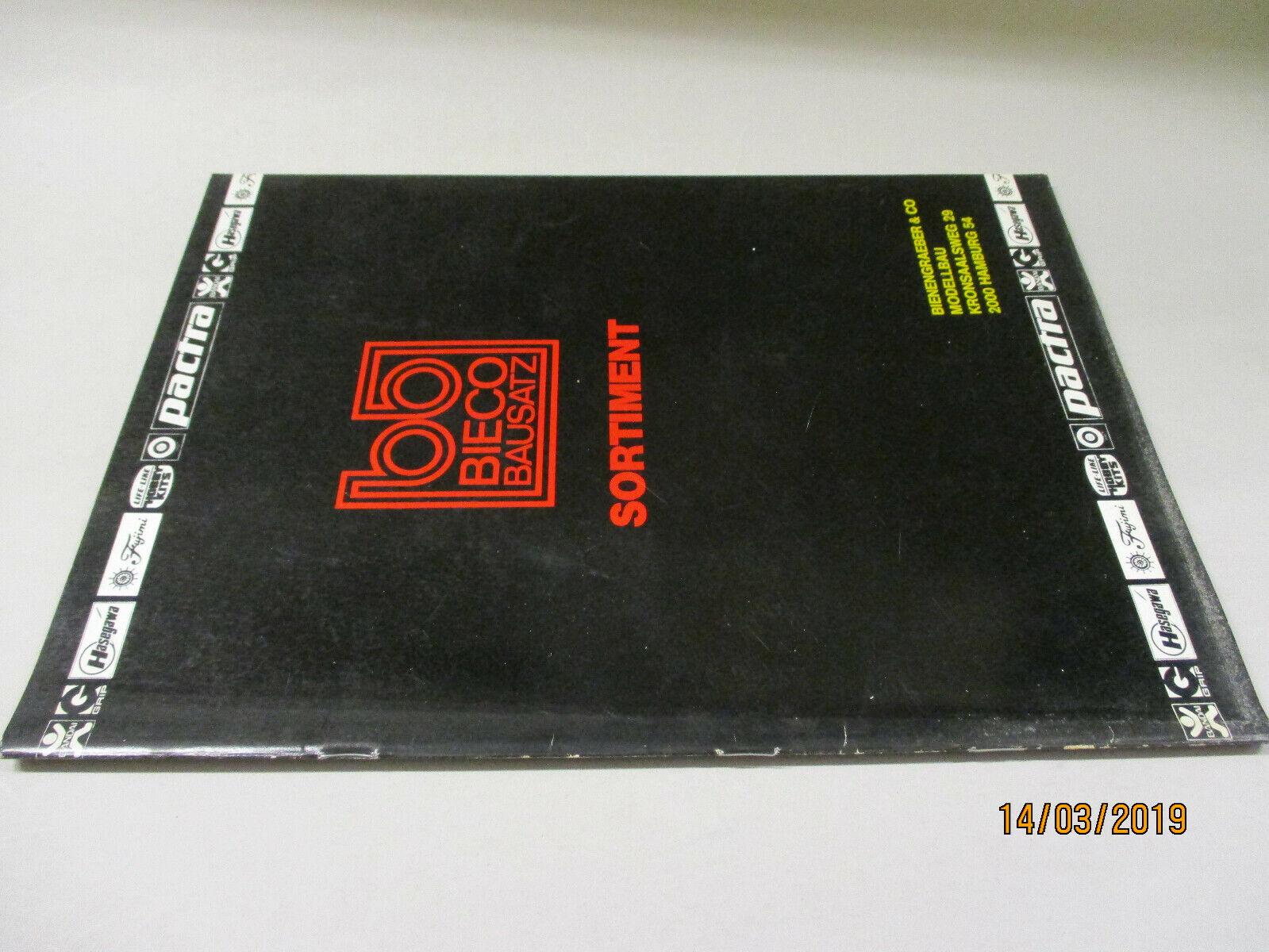 Bieco Model Bausätze Katalog (1)