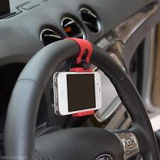 NEU KFZ-Auto Lenkrad Band Handy Halter Für iPhone 5/5S 4/4S 5G 5C iPod Samsung