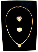 Joan Rivers Classic Collection 3 In One Necklace 3 Necklaces In 1 Heart
