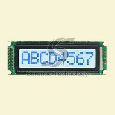 8*1 0801 8X1 Character LCD Module Display Screen LCM STN Gray w/ White Backlight
