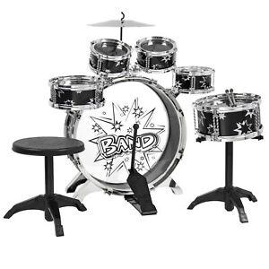 BCP-11-Piece-Kids-Beginner-Drum-Percussion-Musical-Instrument-Toy-Set