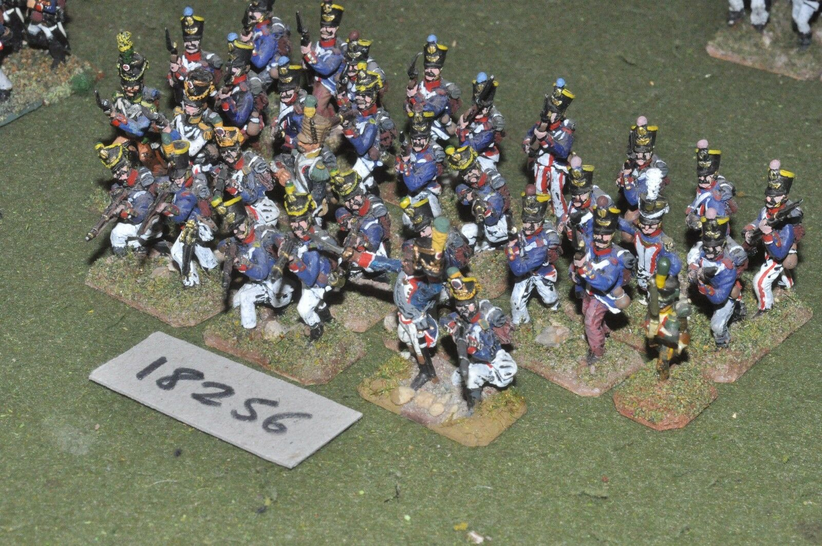 25mm napoleonic   french french french - infantry 33 figs - inf (18256) aa3ce9