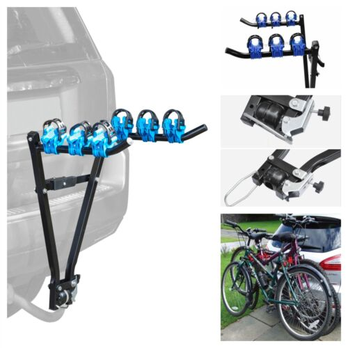 fits Toyota RAV4 3 Bike Carrier Rear Towbar Towball Mount Cycle Rack Bicycle
