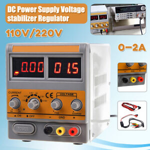 DC-Power-Supply-Adjustable-Variable-Precision-Mobile-Phone-Repair-Dual-Digital