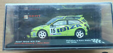 "DIE CAST "" SEAT IBIZA KIT CAR NETWORK Q RAC RALLY UK - 1996 "" SEAT SPORT 1/43"