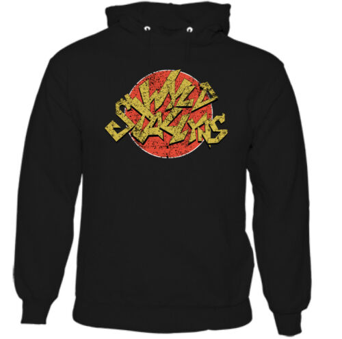 Wyld Stallyns Mens Funny Bill and Ted Movie Hoodie Film Comedy Electric Guitar
