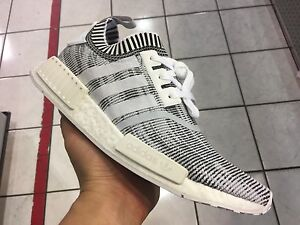 b658d2de804c Adidas NMD ALL grey Primeknit flux ultra boost White red R1 black ...
